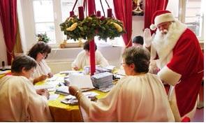 Süße Versuchung im Weihnachtshaus Himmelpfort