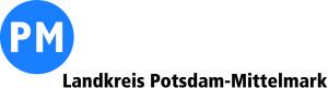 Logo PM blau Schrift 1 zeilig