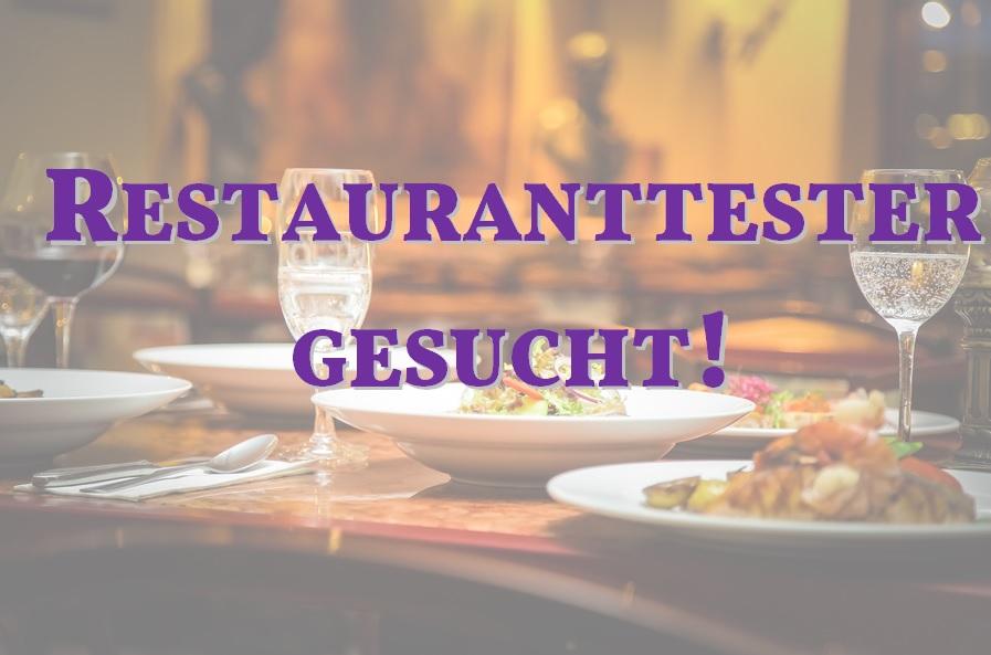 restauranttester gesucht