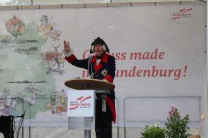 Hoher Besuch anlässlich des pro agro Jubiläums - Friedrich II.