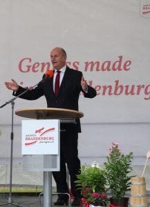 Ministerpräsident Woidke gratuliert pro agro zum 25-jährigen Jubiläum