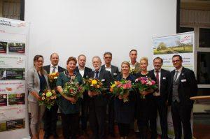 Der neu gewählte Vorstand des Agrarmarketingverbandes pro agro